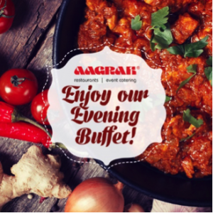 Aagrah evening buffet offer