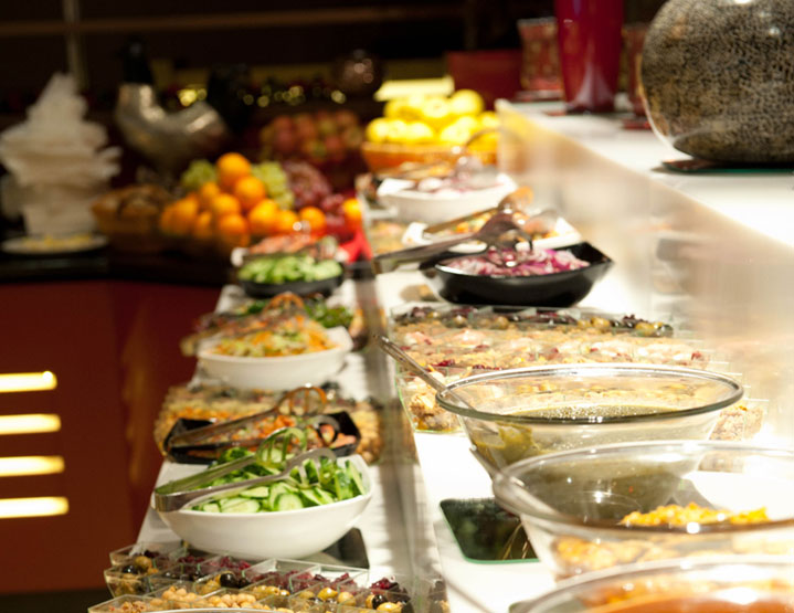 Aagrah Midpoint Bradford buffet side dishes